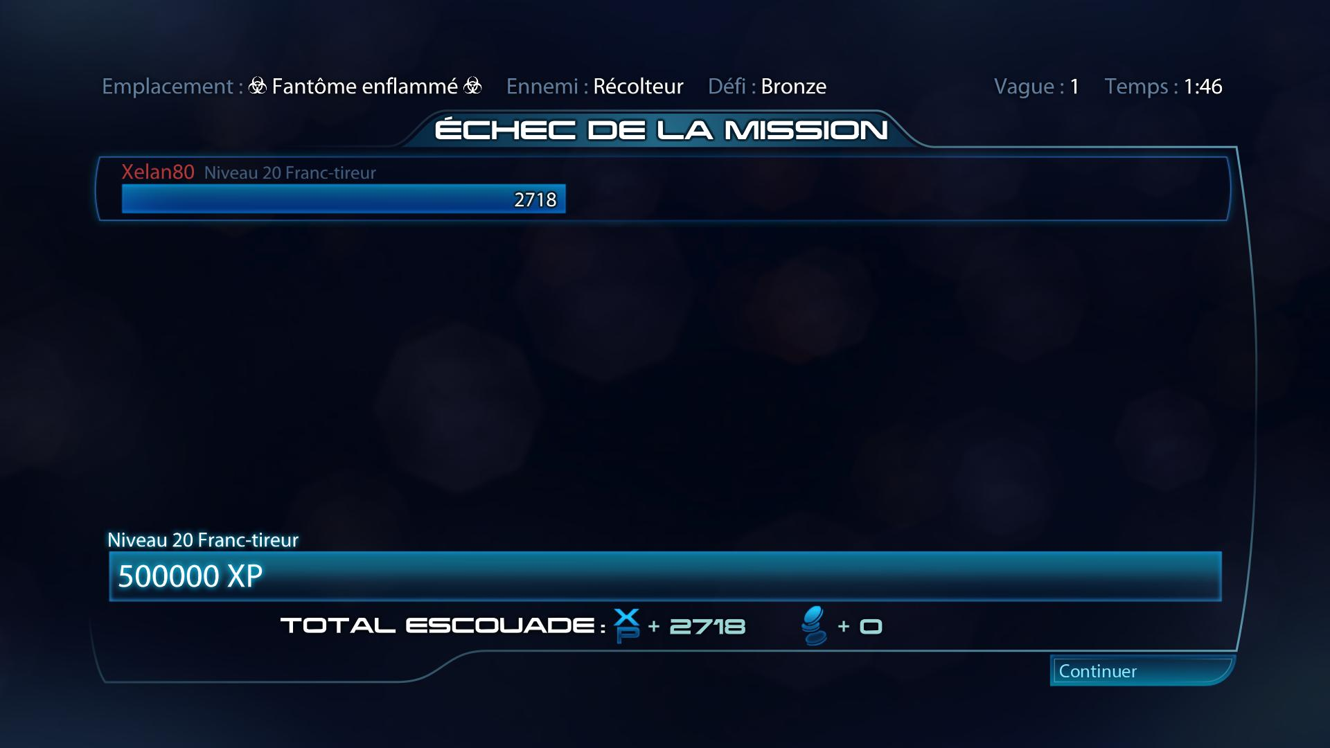 MassEffect3 - Je regresse