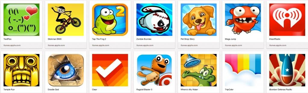 Mini jeux - App