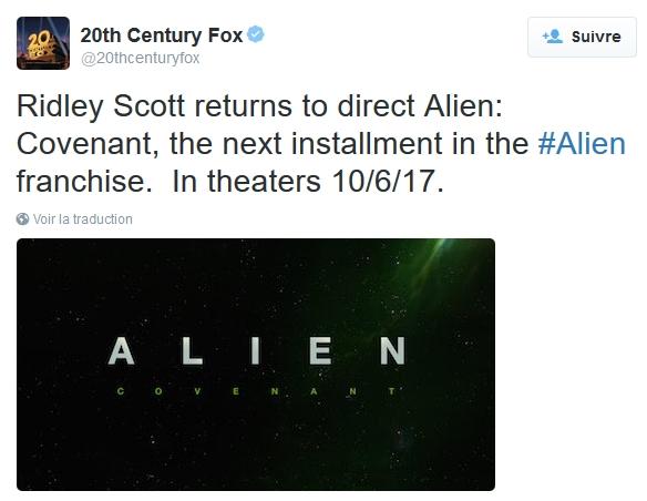 Trilogie Alien
